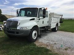 2003 International 4200 Crane Truck