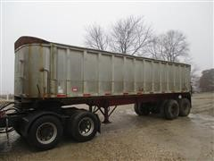 1975 Shien 30DC Aluminum T/A End Dump Trailer