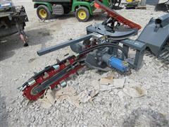 """2017 48"""" Trencher Skid Steer Attachment"""