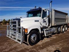 2013 Mack Pinnacle CHU613 Tri/A Dump Truck