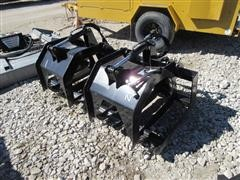 """2016 Brute 70"""" Twin Root Grapple Skid Steer Attachment"""