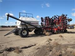 2007 Bourgault 5725-50 Coulter Air Seeder Double Shoot